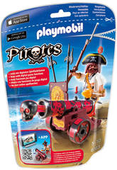 Playmobil Red Interactive Cannon mit Piraten