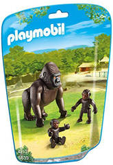 Playmobil Gorila con Bebe