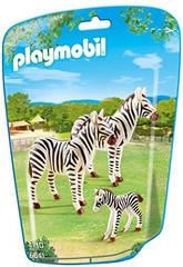 Playmobil Familia de Cebras