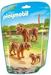 Playmobil Famille De Tigres