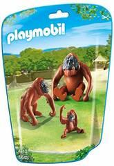 Playmobil Familia de Orangutanes 6648