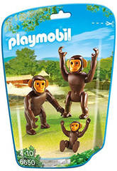 Playmobil Chimpanzés