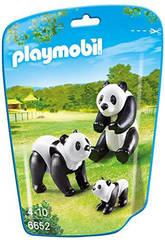 Playmobil Familia de Pandas