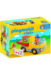 Plymobil 1,2,3 Camion Benne
