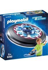 Playmobil Extraterrestre avec soucoupe volante