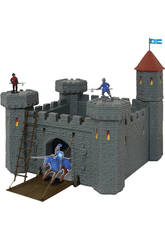 Castelo Medieval com Catapulta