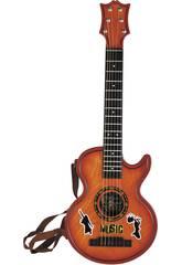 Musikinstrument akustische Gitarre für Kinder 80x29x6cm