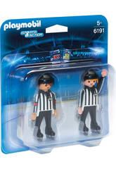 Playmobil Arbitres Hockey Sur Glace