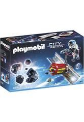 Playmobil Satelite con Laser para Meteoritos 6197