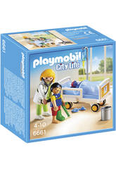 Playmobil Doktor mit Kind