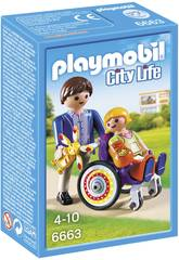 Playmobil Bimbo Ingessato con Papà
