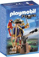Playmobil Capitano Pirata 6684