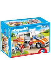 Playmobil Ambulancia con Luces y Sonido 6685
