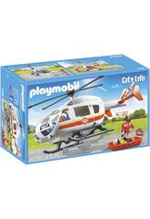 Playmobil Hélicoptère Médical d´Urgences