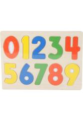 Puzzle en Bois Numéros