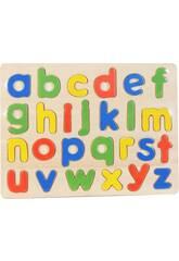 Puzzle en Bois Lettres Minuscules