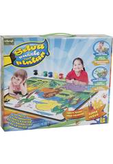 Puzzle pour Peindre les Animaux de la Jungle