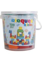 Bloques Construccion Cubo 100 piezas