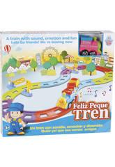 Circuit Petit Train Rose Heureux Avec Sons