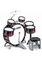 Bateria Jazz 5 Tambores e Pratos