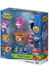 Superwings Figurines Pack 4+4