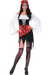 Disfraz Pirata Chica para Mujer Talla S