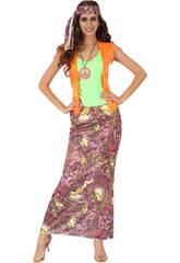 Déguisement Hippie Long Taille S
