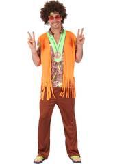 Disfraz Hippie para Hombre Talla L