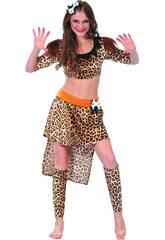 Disfraz Cavernicola Mujer Talla L