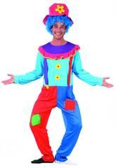 Disfraz Payaso Hombre Talla XL