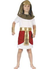 Disfraz Faraon Niño Talla XL