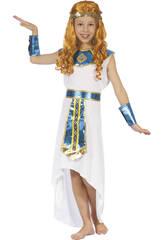 Disfraz Reina Egipcia Niña Talla S