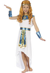Disfraz Reina Egipcia Niña Talla M