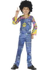 Disfraz Hippie Vaquero Niño Talla M