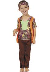 Disfraz Hippie Bebé Talla M