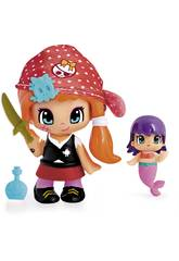 Pin y Pon Piraten und kleine Meerjungfrauen Famosa 700013363