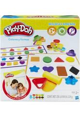Playdoh Aprendo Colores y Formas Hasbro B3404