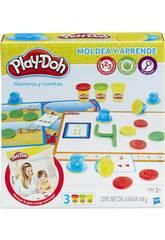 Manualidades Play-Doh Aprendo Números y Cuentas HASBRO B3406