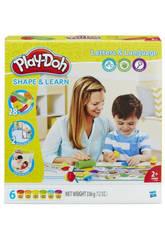 Manualidades Play - Doh Aprendo Letras e Palavras HASBRO B3407