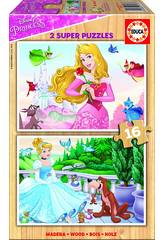Puzzle 2x16 Principesse Disney