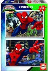 Puzzle junior 2X100 Spiderman