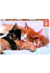 Puzzle 500 Chatons
