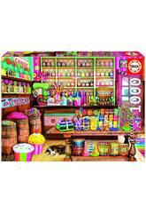 Puzzle 1000 Candy Shop