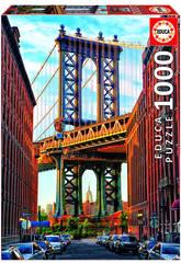 Puzzle 1000 Manhattan Brücke