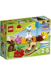 Lego Duplo Mascotas Familiares 10838