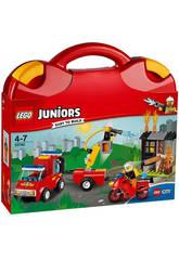 Lego Juniors Maletín de Patrulla de Bomberos 10740