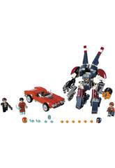 Lego SH Iron Man El Ataque de Acero de Detroit