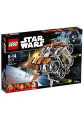 Lego Star Wars Quadjumper di Jakku™