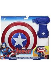 Magnetischer Schild Capitan America Avengers 21 cm HASBRO B9944