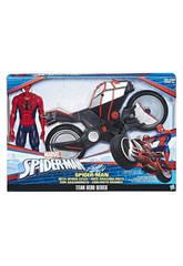 Spiderman Figura Con Veicolo